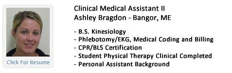 Ashley Bragdon. Click image for her resume.