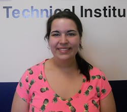 Kelly Baldic, Medical Coding and Billing Student at NTI Bangor