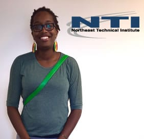 Davianne Redwood, NTI Medical Lab graduate, headed to the Red Cross to make a difference
